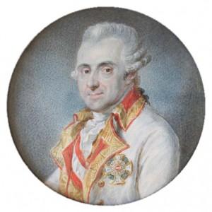Figure 12: Feldmarschall Joseph Johann Graf Ferraris