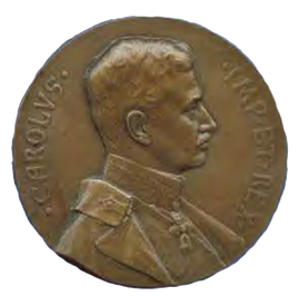 Figure 12: Military Maria Theresia Order Folgaria Commemoration Medal, Obverse, Bronze Medal, Image from the authors archive