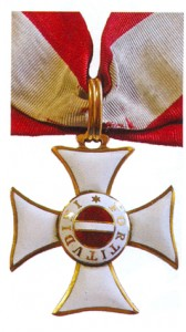 Figure 7: Maria Theresia Commander Badge (Type issued from 1765-1812)