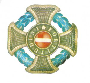 Figure 1: Military Maria Theresia Order Grand Cross Star