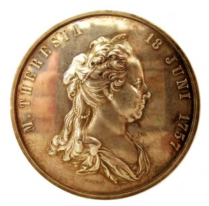 Military Maria Theresia Order 100 Year Jubilee Medal, obverse, Bronze, Image from the authors archive