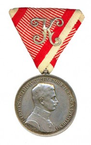 Figure 12: Officer Silver Bravery Medal. Image from author's archive