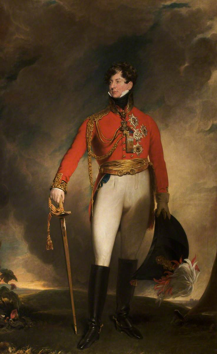 Lawrence, Thomas; Prince Regent (1762-1830), Later George IV; Tabley House Collection; http://www.artuk.org/artworks/prince-regent-17621830-later-george-iv-103861