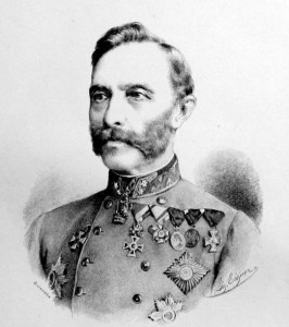 Figure 25: Feldzeugmeister Vincenz Freiherr von Able wearing the Military Merit Cross with war decoration. Image from author's archive.