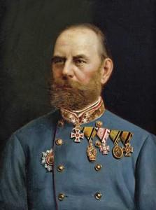 Figure 24: Feldmarschalleutnant Otto Freiherr von Hartlieb wearing the Military Merit Cross. image from the author's archive