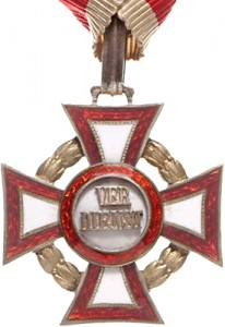 Figure 7: Military Merit Cross with war decoration, obverse. Image courtesy of Dorotheum