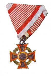 Figure 10: Military Merit Cross with war decoration, Type II. From author's archive.