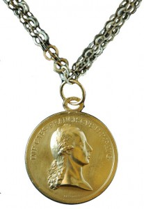 Figure 8: Honor Medal for English Cavalrymen on chain, from the author's archive