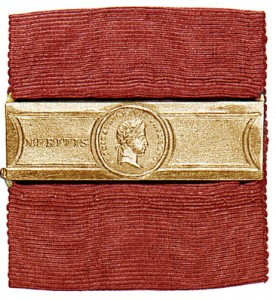 Figure 6:  Clasp associated with the 1835-1848 Civil Merit Medal