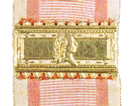 Figure 4: Clasp associated with the 1804-1809 Honor Medal. Image from the author's archive.