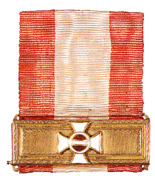 Figure 3: Military Maria Theresia Order ribbon bar. Image from the author's archive