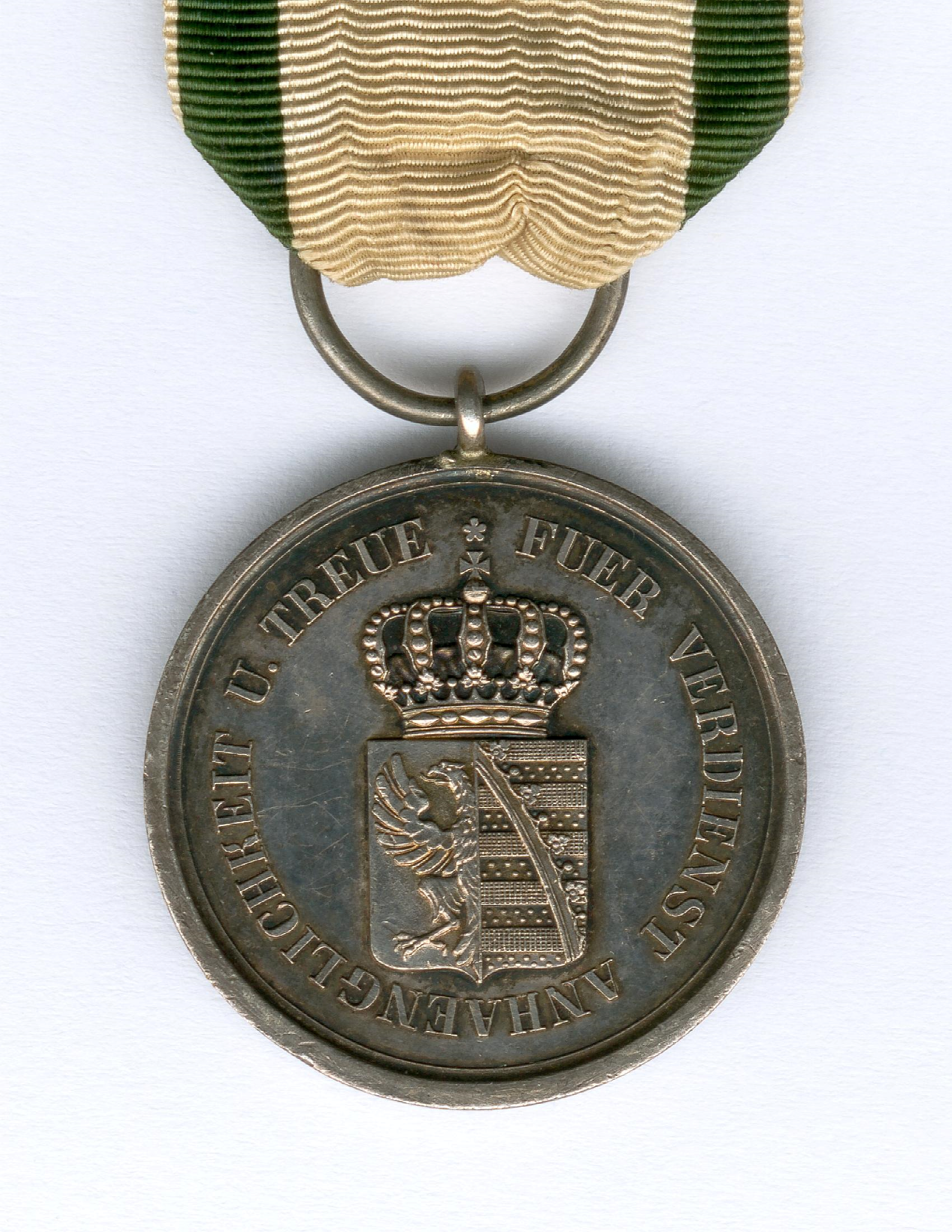 Figure 4-Detail of the reverse of an example of an awarded Silver Medal. Image courtesy of Sascha Wöschler, Karlsruhe.