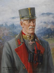 Figure 14: Feldmarschalleutnant Johann Graf von Hernerstein wearing the Military Merit Cross Second Class with war decoration and swords. Image from the authors archive)