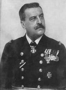 Figure 15: Vizeadmiral Karl Kailer von Kaltenfels wearing the Military Merit Cross Second Class with war decoration. Image from the author's archive.