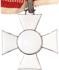 Figure 11: Reverse of the Military Merit Cross Second Class. Image courtesy of Dorotheum.