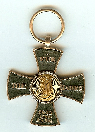 Figure 2: Obverse of the custom-made cross. Image from author's archive.