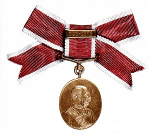 Figure 3: Civil Court Jubilee Medal as issued to women: Image from author's archive.