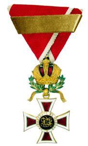 Figure 2: Order of Leopold, knight with second award bar. (Unofficial) Image from author's archive