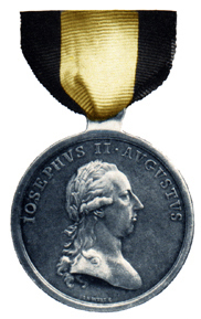 Figure 2: Large Silver Merit Medal for Royal and Imperial Military Doctors and Regimental Surgeons obverse. Image from author's archive.