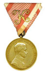 Figure 13: Officer Gold Bravery Medal. Image from author's archive