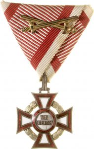 Figure 3: Military Merit Cross, third class with war decoration and swords. Image courtesy of Dorotheum.