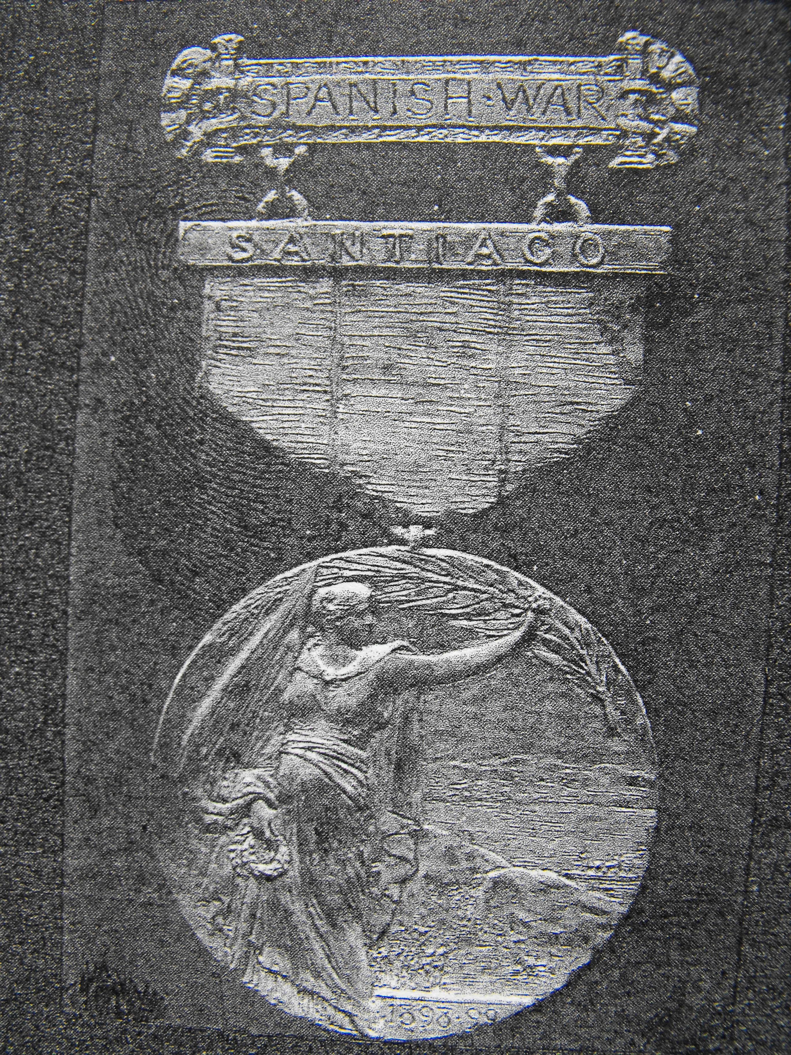 US Mint Proposed Medal for Span-Am War with Campaign Bar