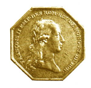 Figure 1: Gold Commemoration Medal for Volunteers of the Netherlands Provence, obverse. Image attributed to Reference Catalogue Orders, medals and decorations of the World, A-D, Borna Barac