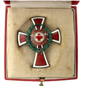 Figure 5: Red Cross Officer Cross case, interior. Image form the author's archive.