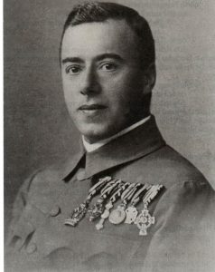 Figure 18: A Military Chaplain wearing the Red Cross Decoration Second Class with war decoration. Form the author's archive.