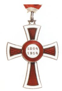 Figure 4: Red Cross Decoration, second class, reverse. Image courtesy of Dorotheum