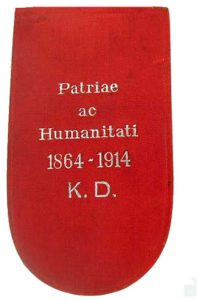 Figure 6: Red Cross Decoration with war decoration second class case. Image from the author's archive