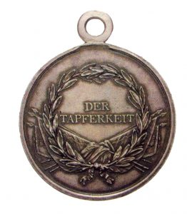 Figure 4: 1789-1791 Honor Medal Obverse. Image from the author's archive.