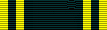 Figure 5: Olmutz Military Medal ribbon as reported by Mericka. Image from the author's archive
