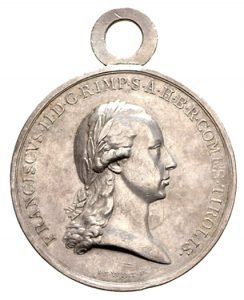 Figure 2: Military Merit Medal for the Tyrolean Mobilization, obverse. Image courtesy of Dorotheum.