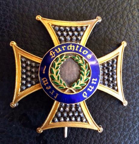 Wuerttemberg Military Merit Order Grand Cross star by F.Steinam