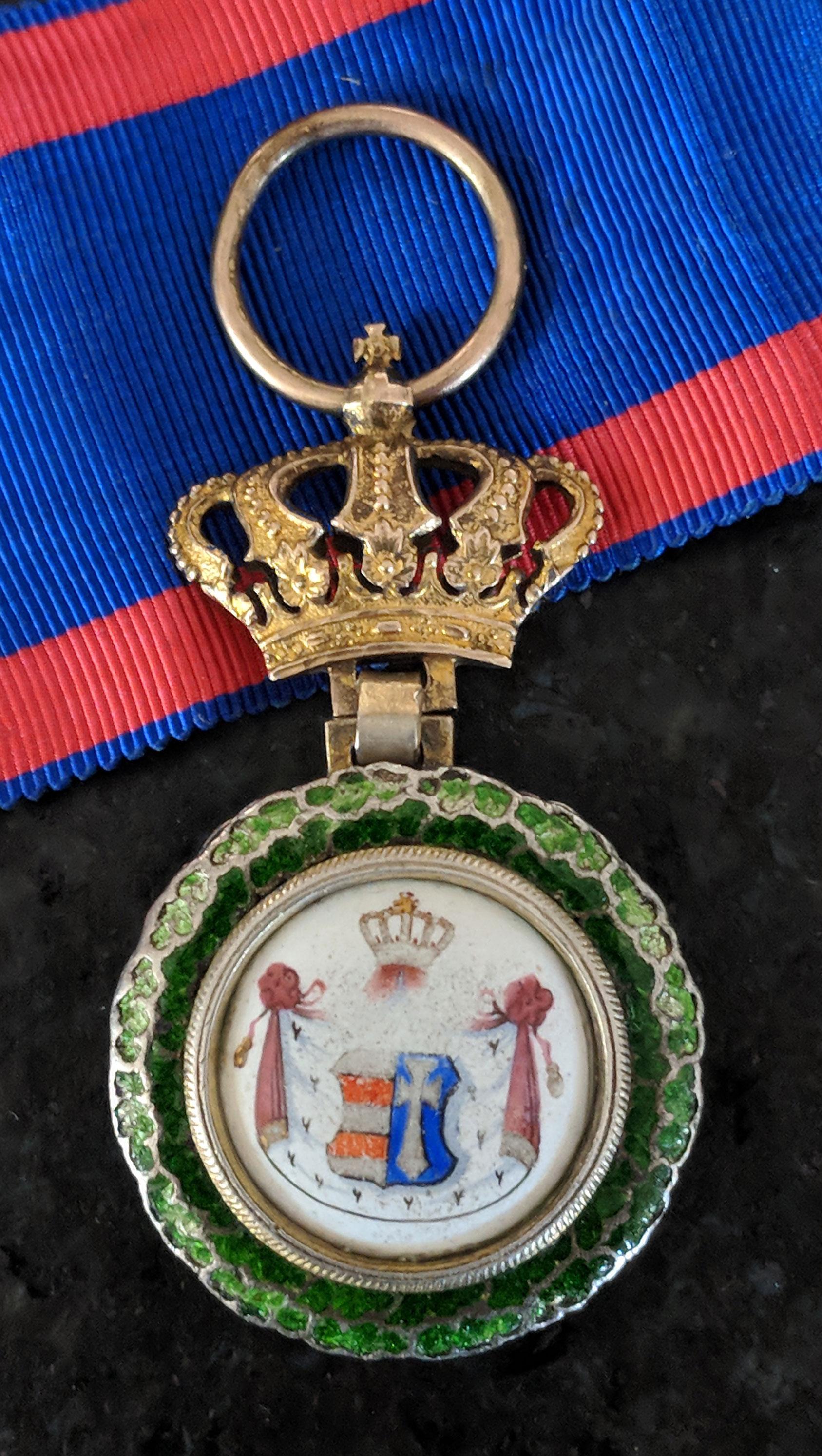 Grand Dutchy of Oldenburg, Capitular Grand Cross Badge reverse