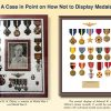 How NOT to Display a Veteran's Medals