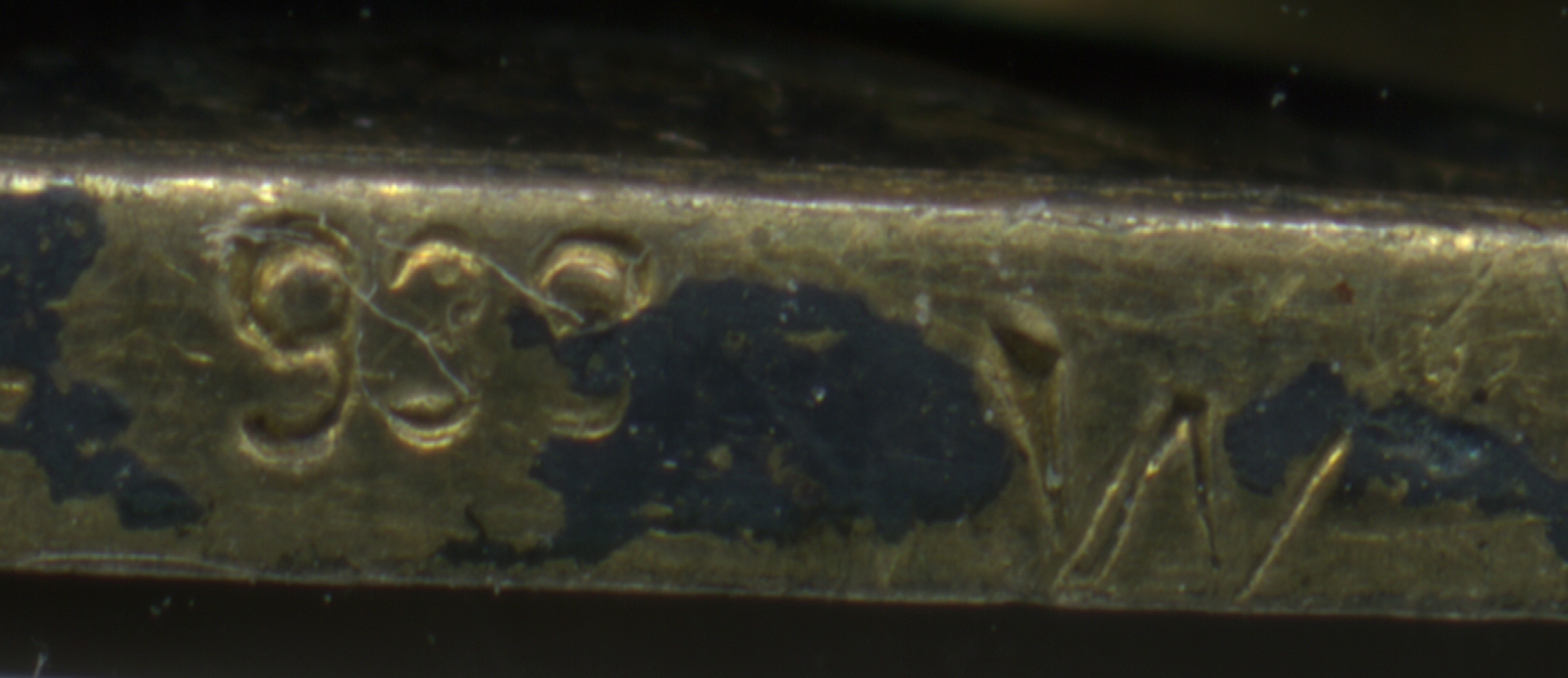"Proper Markings on a silver gilt Military Merit Cross, ""938 W"""