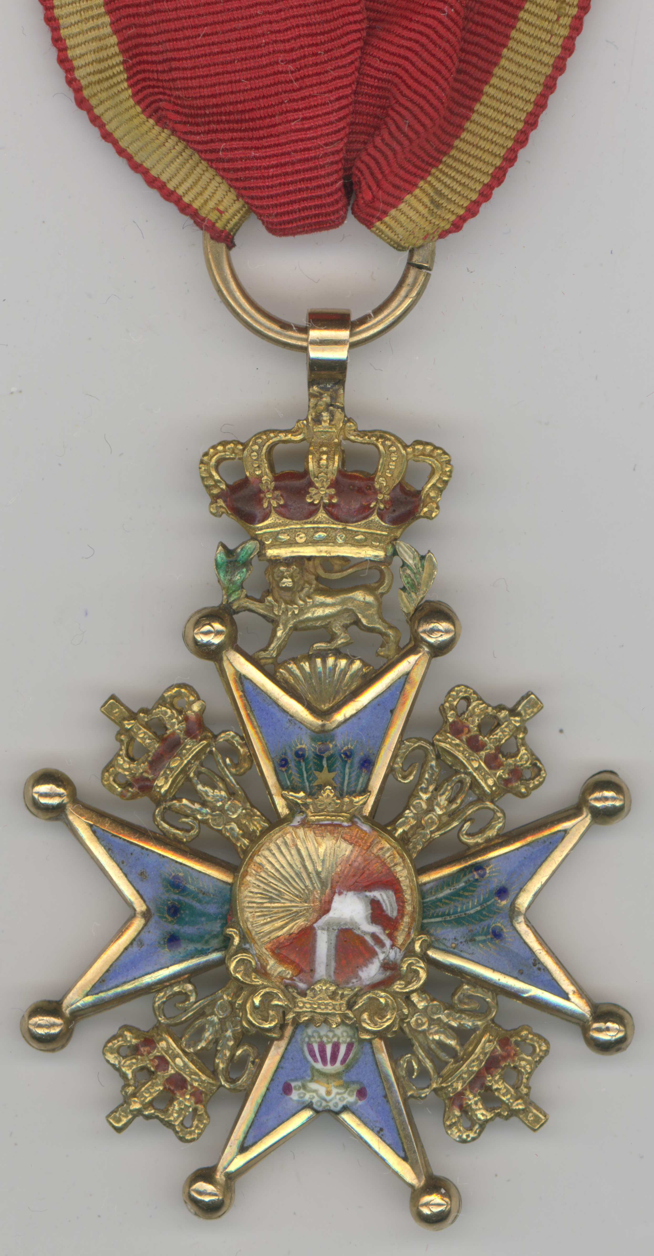 Fig 1: Brunswick Knight Cross 1st Class, 1st Model, avers