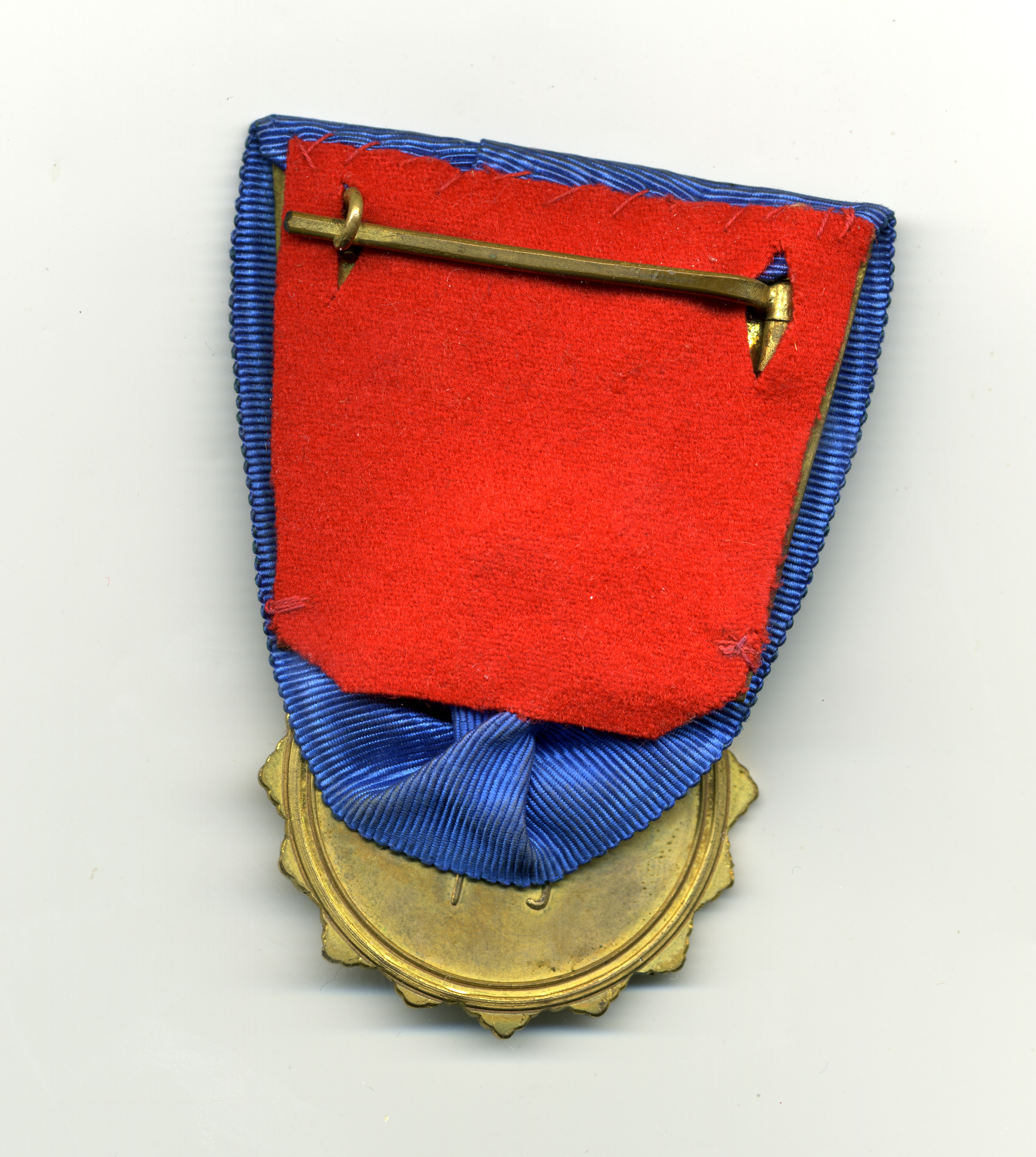Fig 2: Imperial Chinese Legation Medal 1st Class Reverse