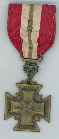 Confederacy Cross Service Medal