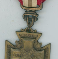 UDC Cross for WWI Military Service